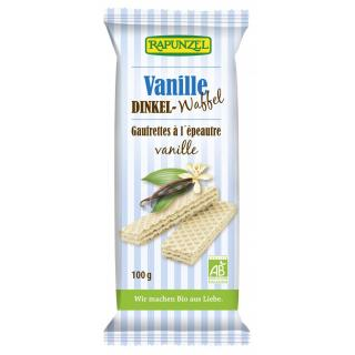 Vollkornwaffeln Vanille