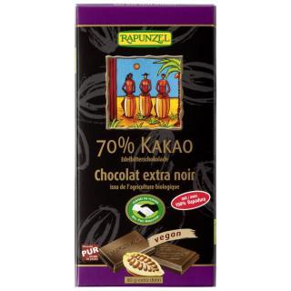 Edelbitter Schokolade 70% Kakao (Rapadura) HIH