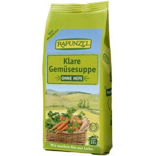 Klare Suppe, ohne Hefe