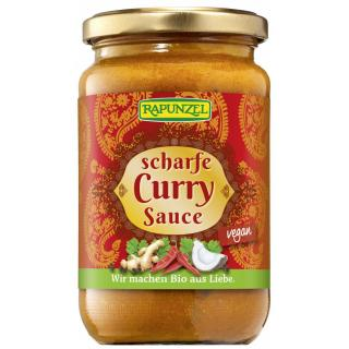 Curry-Sauce scharf