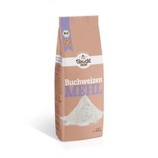 Buchweizenmehl, Vollkorn, glutenfrei