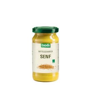 Mittelscharfer Senf, 200 ml Glas