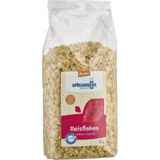 Reisflakes aus Vollkornreis ungesüßt