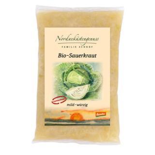 Sauerkraut im PE-Beutel