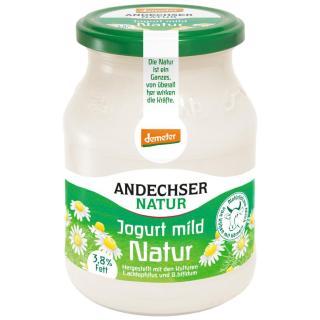 Demeter Joghurt mild, 3,7%Fett