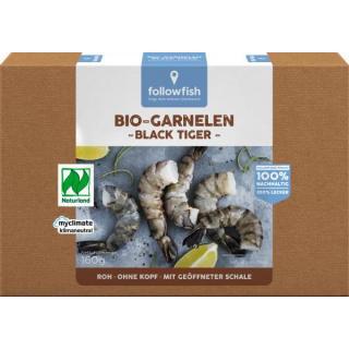 Bio Black Tiger Garnelen