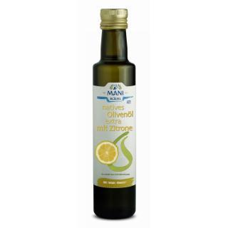 Olivenöl Mani Zitrone, 250 ml, Bläuel