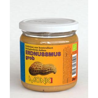 Erdnussmus grob